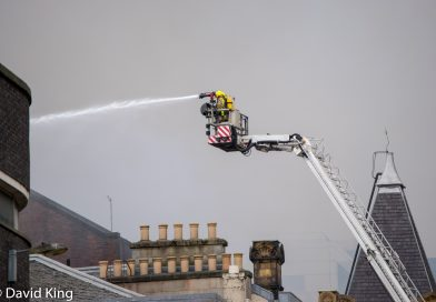 Fire incident in Sauchiehall Street drags on for day 3 as emergency services remain on the scene