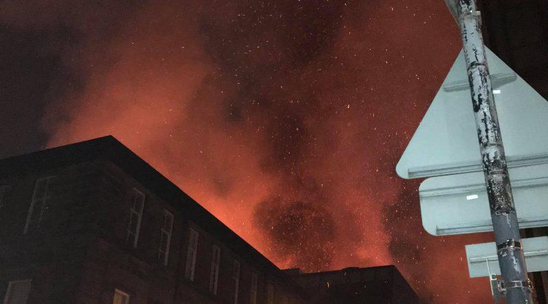 Breaking News: Fire breaks out at Glasgow School of Art
